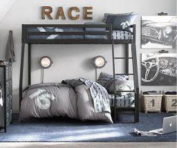 10 idéias de decoração para quarto de meninos – Tema Carros e outros Meios de Transporte