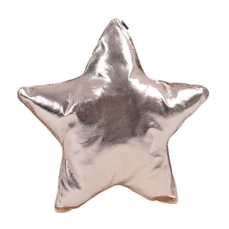 Almofada estrela - cobre