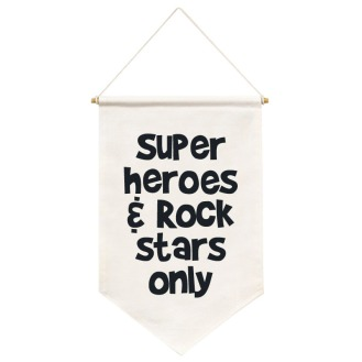 Flag Super Hero - Doudou