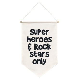 Flag Super Hero - Doudou