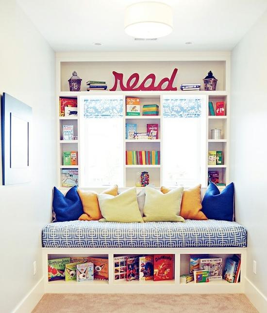 Creative-Library-Reading-Corner