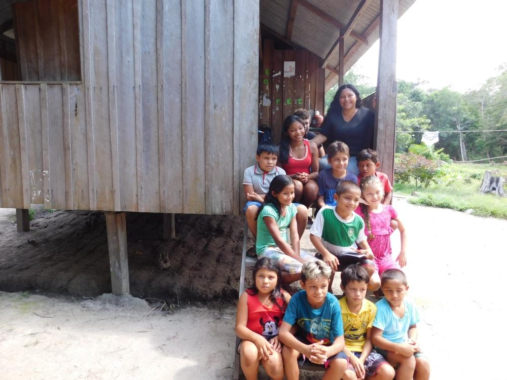 Amazônia - comunidade ribeirinha - foto Paola Gulin