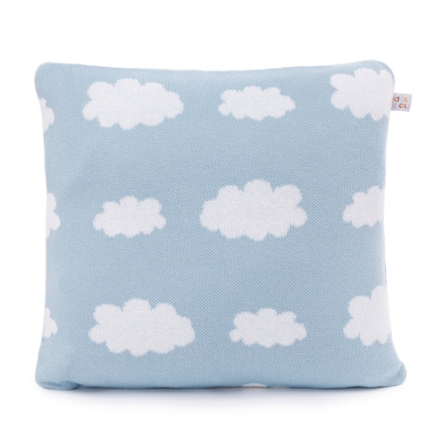 Almofada Tricot Mouton Azul