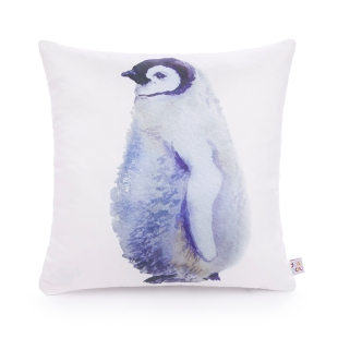 Almofada Aquarela Pinguin